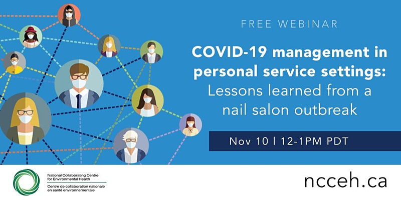 COVID-19 management in personal services settings: Lessons learned from a nail salon outbreak