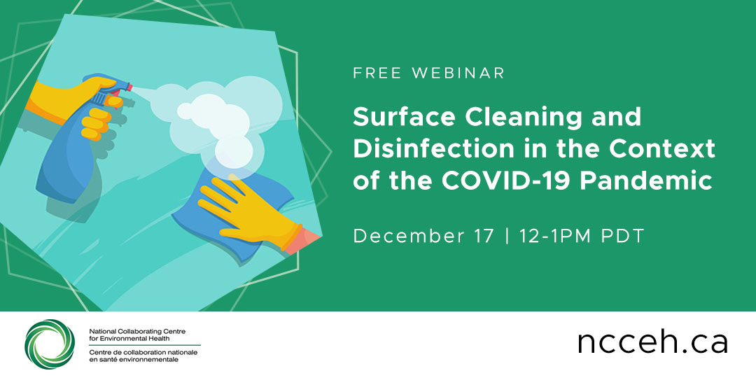 Surface Cleaning and Disinfection in the Context of the COVID-19 Pandemic